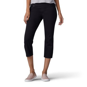 Lee Sculpting Pull On Capris- Petite
