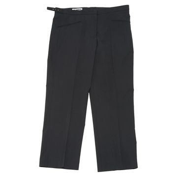 Jil Sander Anthracite Wool Trousers
