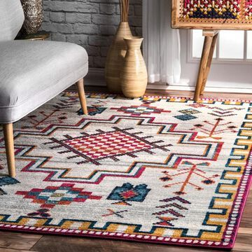 nuLOOM Contemporary Southwestern Area Rug
