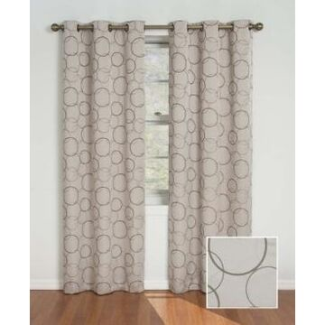 """Eclipse Meridian Thermaback Blackout 42"""" x 84"""" Curtain Panel"""