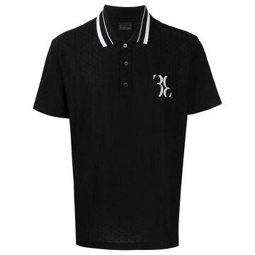 logo embroidered polo shirt