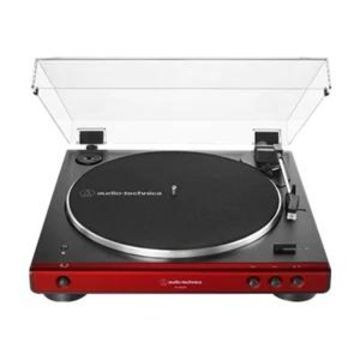 Audio-Technica AT-LP60XBT - Turntable - red/black