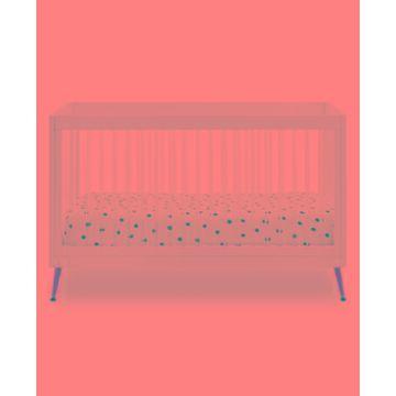 Delta Children Sloane 4-In-1 Acrylic Convertible Crib - Includes Conversion Rails