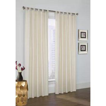 Commonwealth Home Fashions Prescott Tab Top Panel Curtain Pair -