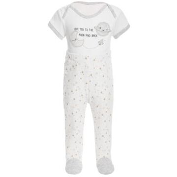 First Impressions Baby Boys Twinkle Cotton Bodysuit Pant Set, Created for Macy's
