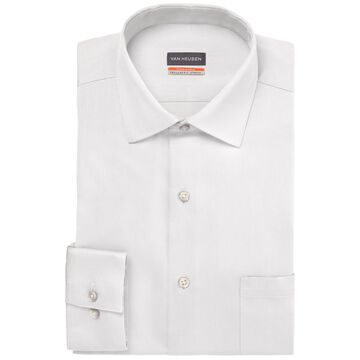 Van Heusen Men's Big & Tall Classic/Regular-Fit Stain Shield Performance Stretch Textured Dress Shirt