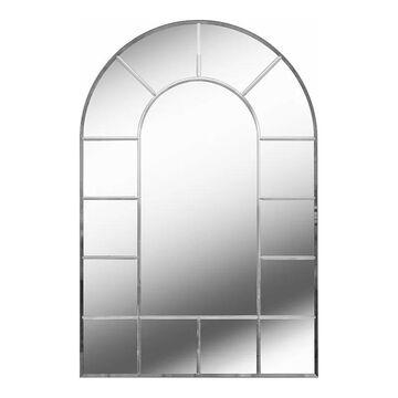 Kenroy Home Finestra Window Wall Mirror, Grey, 35.5X24