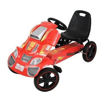 Hot Wheels Speedster Go Kart Ride On - Red