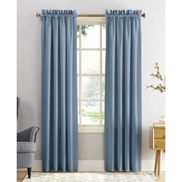 "Sun Zero Grant 54"" x 95"" Rod Pocket Top Curtain Panel"