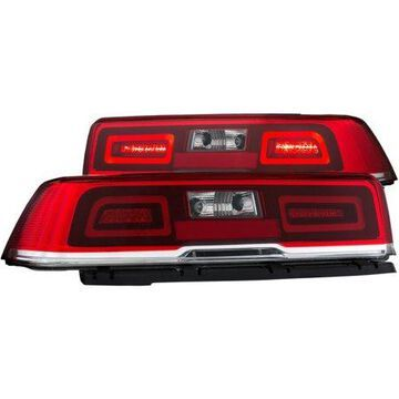 ANZO 2014-2015 Chevrolet Camaro LED Taillights Red/Clear