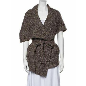 V-Neck Sweater Brown