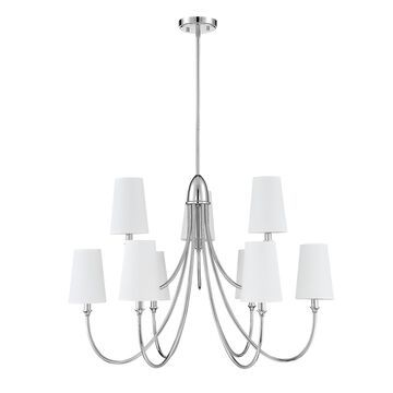 Savoy House Cameron 35 Inch 9 Light Chandelier Cameron - 1-2541-9-109 - Transitional