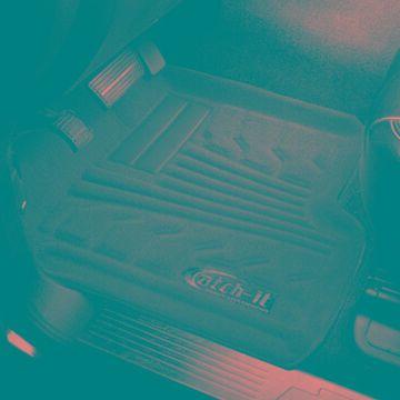 2014 Toyota Tundra Lund Catch-It Carpet Floor Mats in Black, Floor Mat Set - Catch-It Carpet Floor Mat - Rear - PN 783221-B