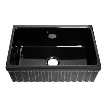 Whitehaus Collection Quatro Alcove Fireclay Sink