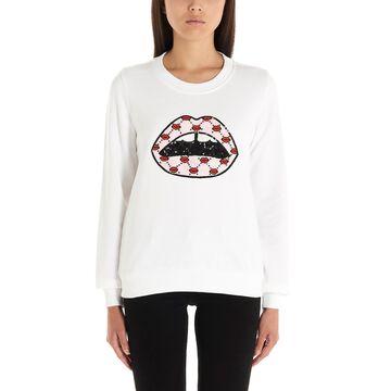 Markus Lupfer sequin Iconic Lip Sweatshirt