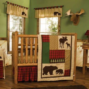 Trend Lab Northwoods 6 Piece Crib Bedding Set