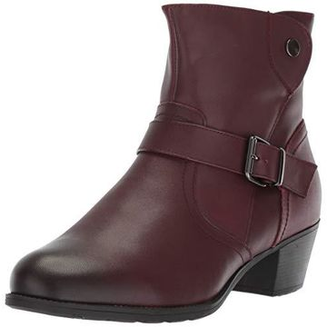 Propet Women's Tory Ankle Boot, Rich Burgundy, 6H 2E 2E US