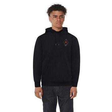 Jordan Retro 6 Pullover Hoodie - Black