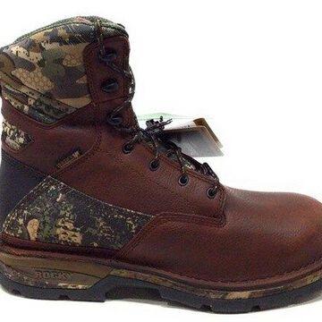 Rocky Men's RKS0319 Mid Calf Boot, Brown Camoflauge, 8 W US
