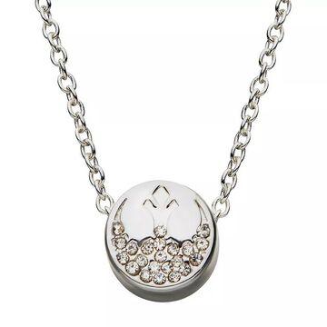 "Star Wars Rebel Symbol Necklace, Women's, Size: 18"", White"