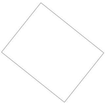 White Pacon Coated Poster Board, 22