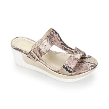 Kenneth Cole Reaction Women's Pepea Buckle Wedge Sandals Women's Shoes