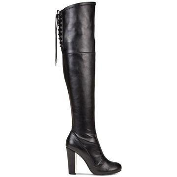 Material Girl Womens priyanka Closed Toe Knee High Fashion Boots