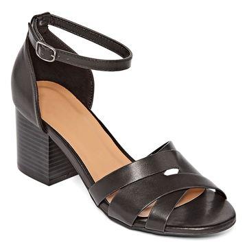 Bamboo Womens Premium 84s Heeled Sandals