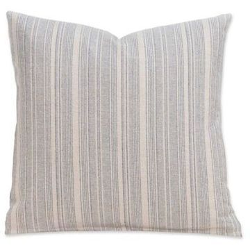 SIScovers Cottage 26-Inch Square Throw Pillow in Beige/Grey