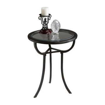 Offex Home Decor Accent Table Metalworks Light