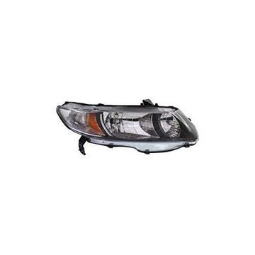 Headlight - DEPO For/Fit 33101SVAA51 09-11 Honda Civic Coupe Right Hand NSF