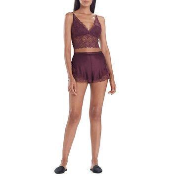Natori Sleek Lace Shorts