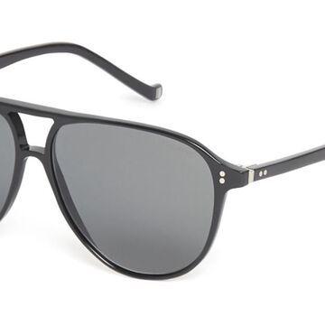 Hackett HSB887 01P Men's Sunglasses Black Size 56