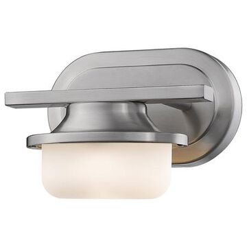 Optum Single Light 8 Wide 8 Watt LED Wall Sconce with Matte Opal Glass