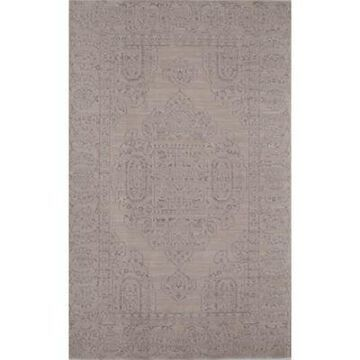Rugs America Wilshire Medallion 5' x 8' Area Rug in Ivory