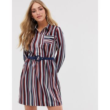 Vila stripe shirt dress