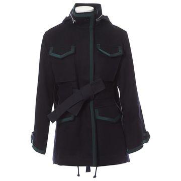 Sacai \N Navy Wool Coats