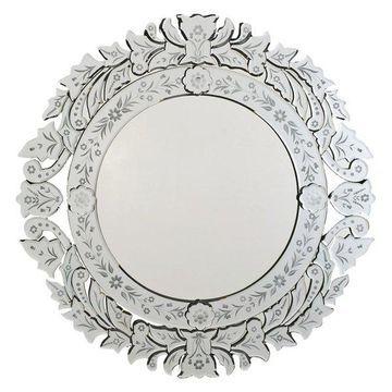 Afina Radiance Venetian Decoraive Mirrors, Large Round