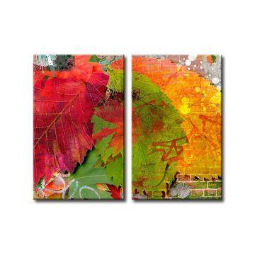 Ready2HangArt 'Fall Ink III' Canvas Wall Art