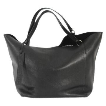 Burberry Black Leather Handbag
