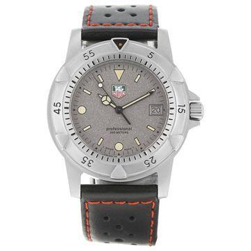 Tag Heuer Black Steel Watches