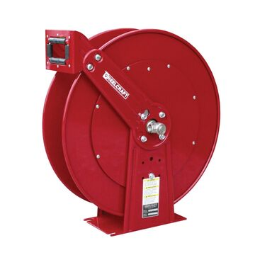 D84000 OLP 1 in. x 50 ft. Heavy Duty 500 PSI Air & Water without Hose Reel, Red