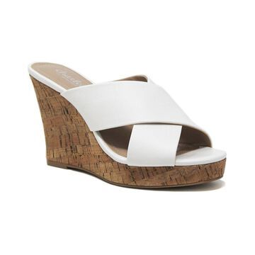 Charles By Charles David Latrice Microsuede Wedge Sandal