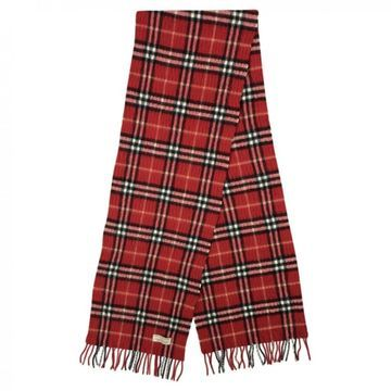 Burberry Red Cashmere Scarves