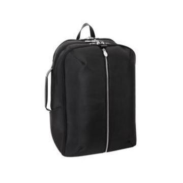 "Mcklein Englewood 17"" Nylon Triple Compartment Laptop Tablet Weekend Backpack"