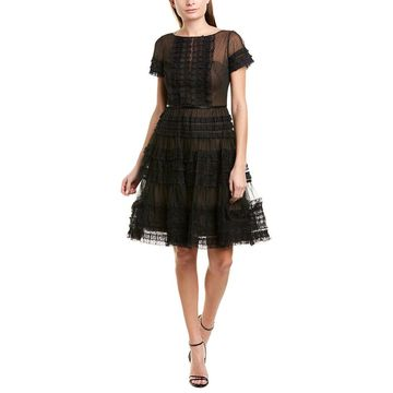 Marchesa Notte Womens Cocktail Dress