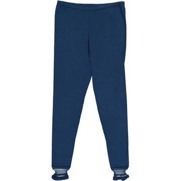 Philosophy Di Alberta Ferretti Blue Cotton Trousers