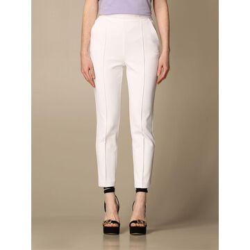 Elisabetta Franchi high-waisted crepe trousers