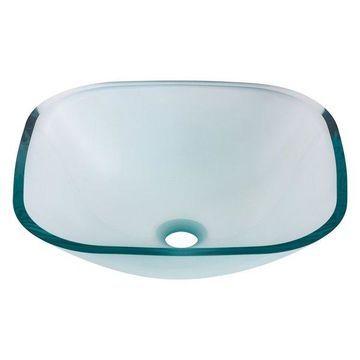 Piazza Glass Vessel Sink