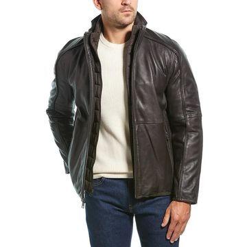 Marc New York Hartz Leather Jacket